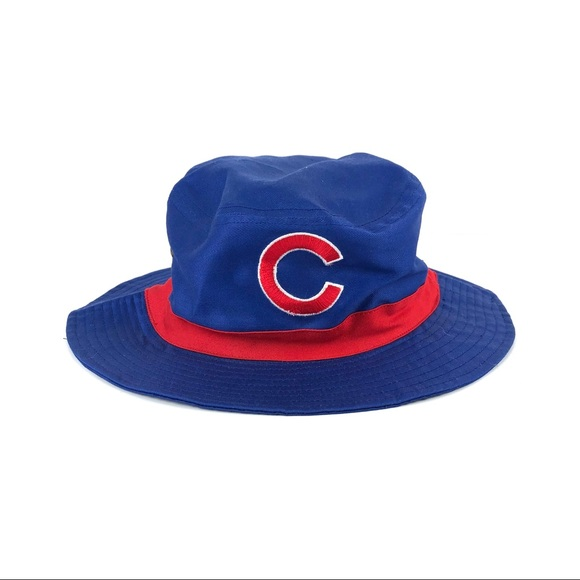 f74d19a6c Unbranded Accessories   Chicago Cubs Bucket Hat Bud Beer Wrigley Sga ...